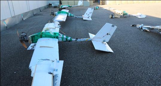 Russian Swarm Drones