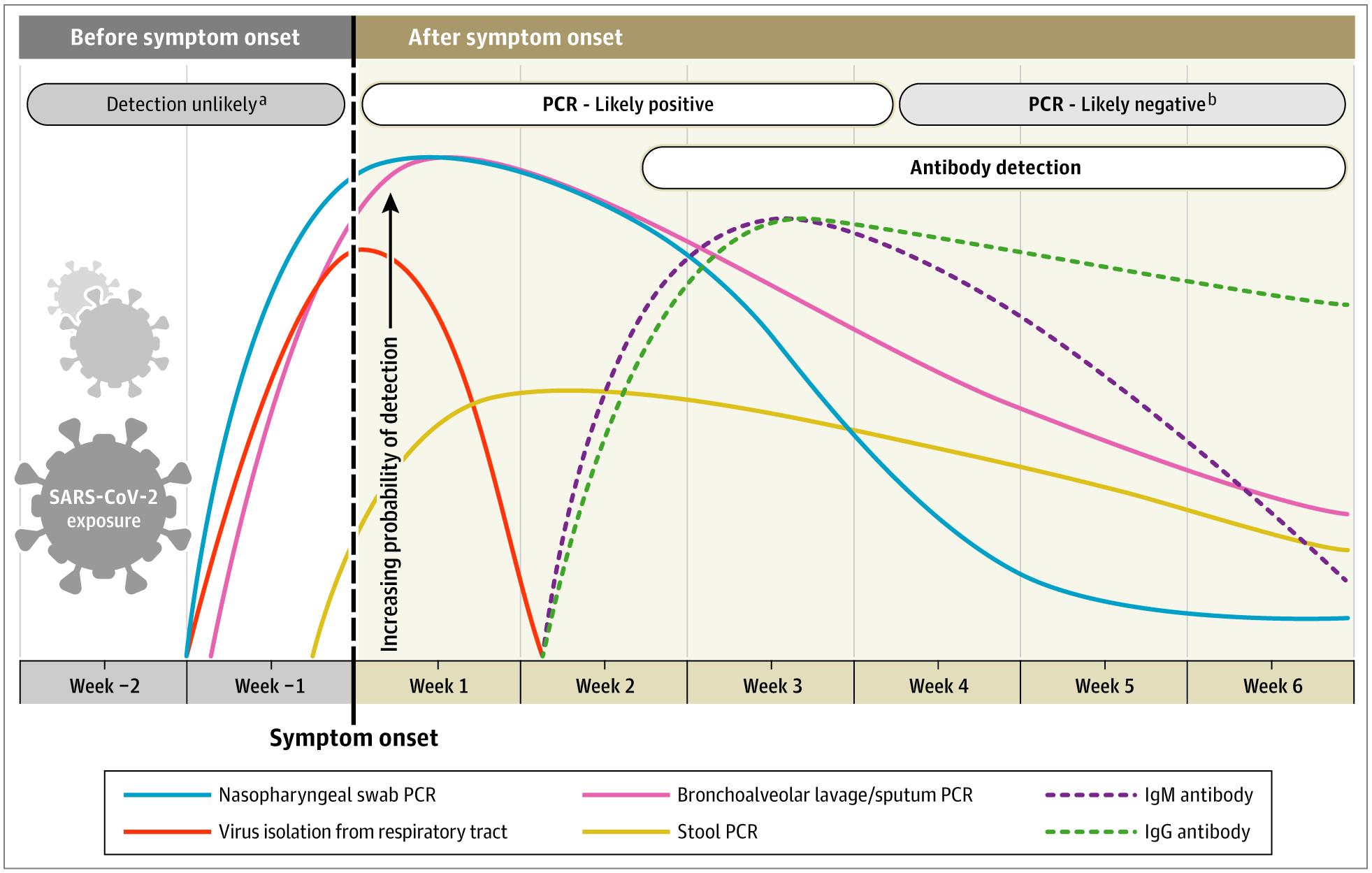 COVID-19 Onset of Symptoms Timeline